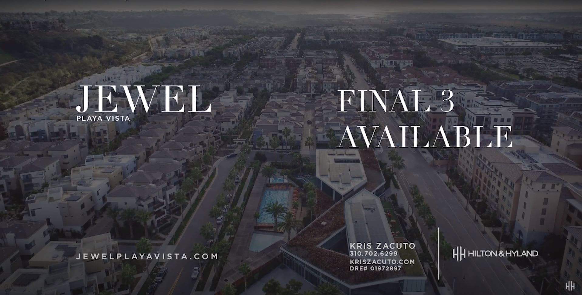 JEWEL Playa Vista | Final 3 Luxury Residences Availbale Now video preview