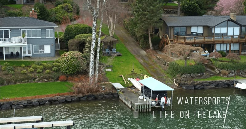 """6216 East Mercer Way """"Remodeled NW Contemporary w/ Lake Views"""" video preview"""