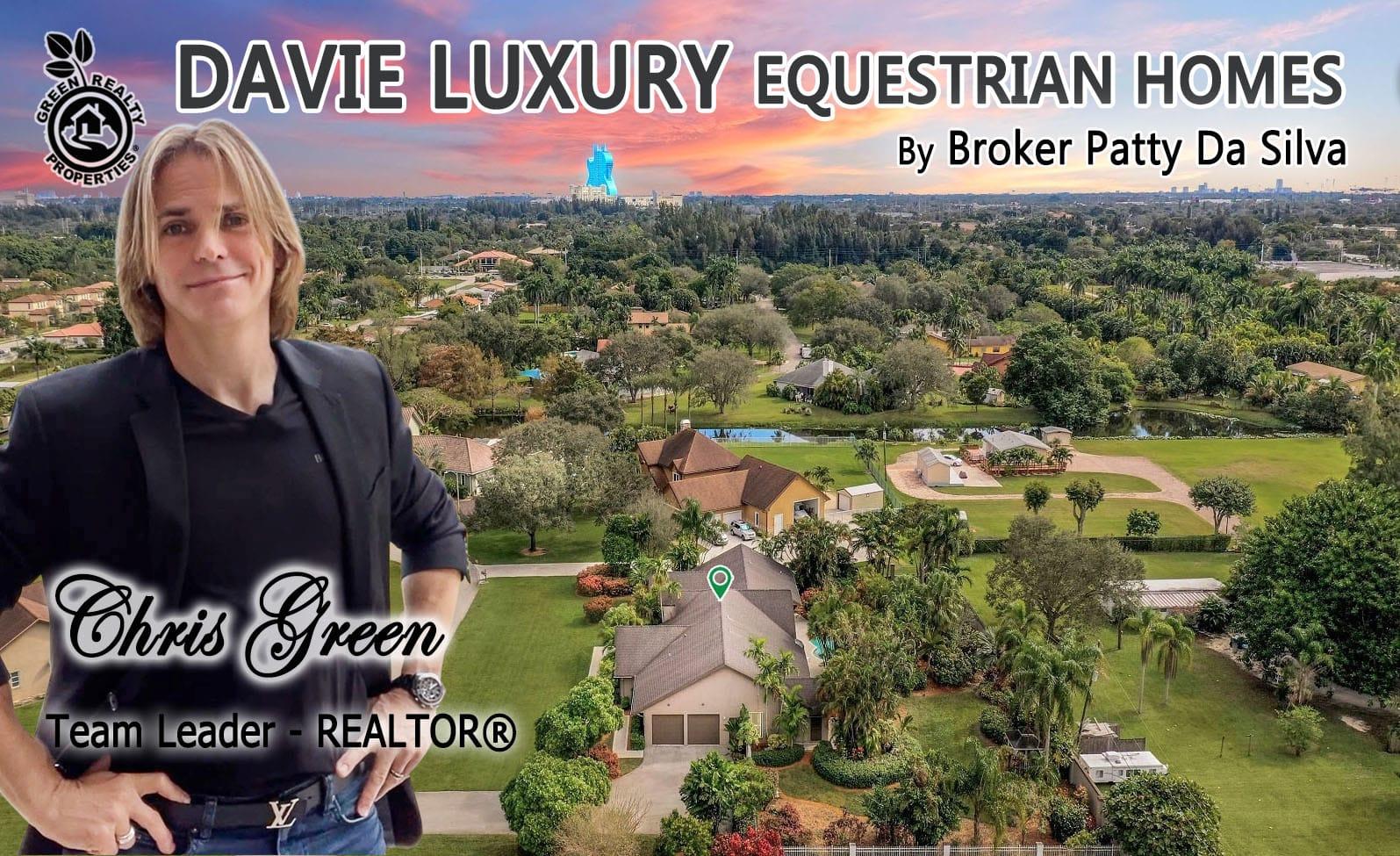 Davie Luxury Equestrian Homes