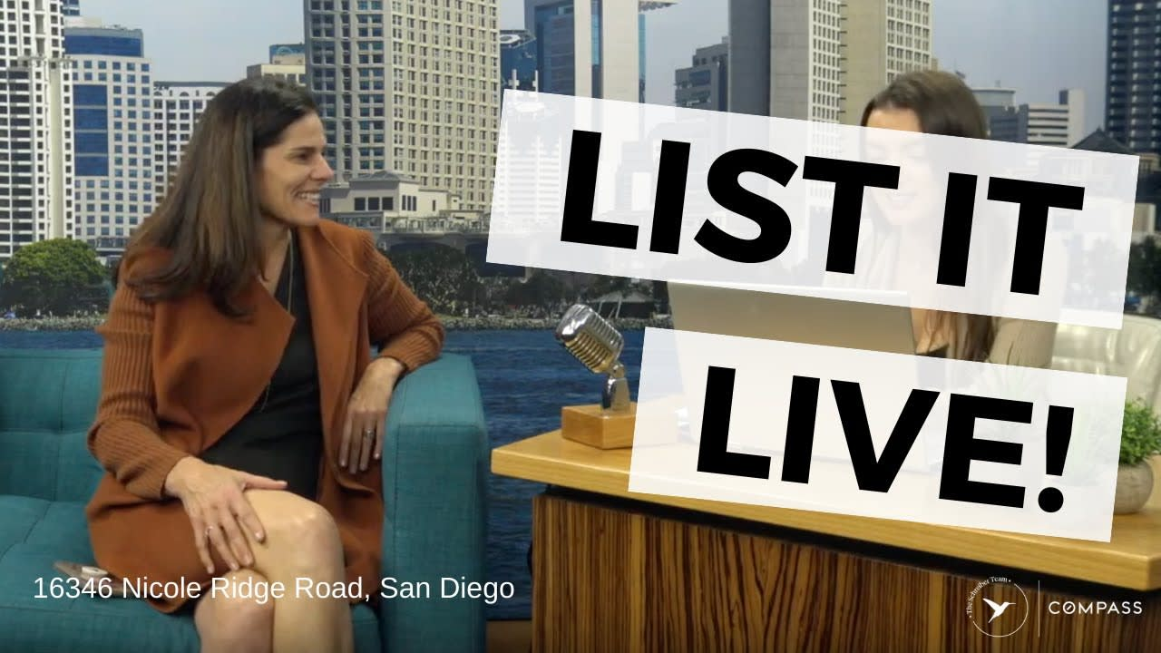 San Diego Real Estate: List It Live on Real Talk San Diego! video preview