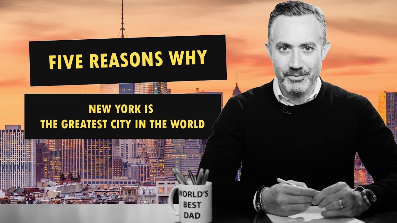 Top 5 Reasons New York City is the Greatest City in the World | Housing Market video preview