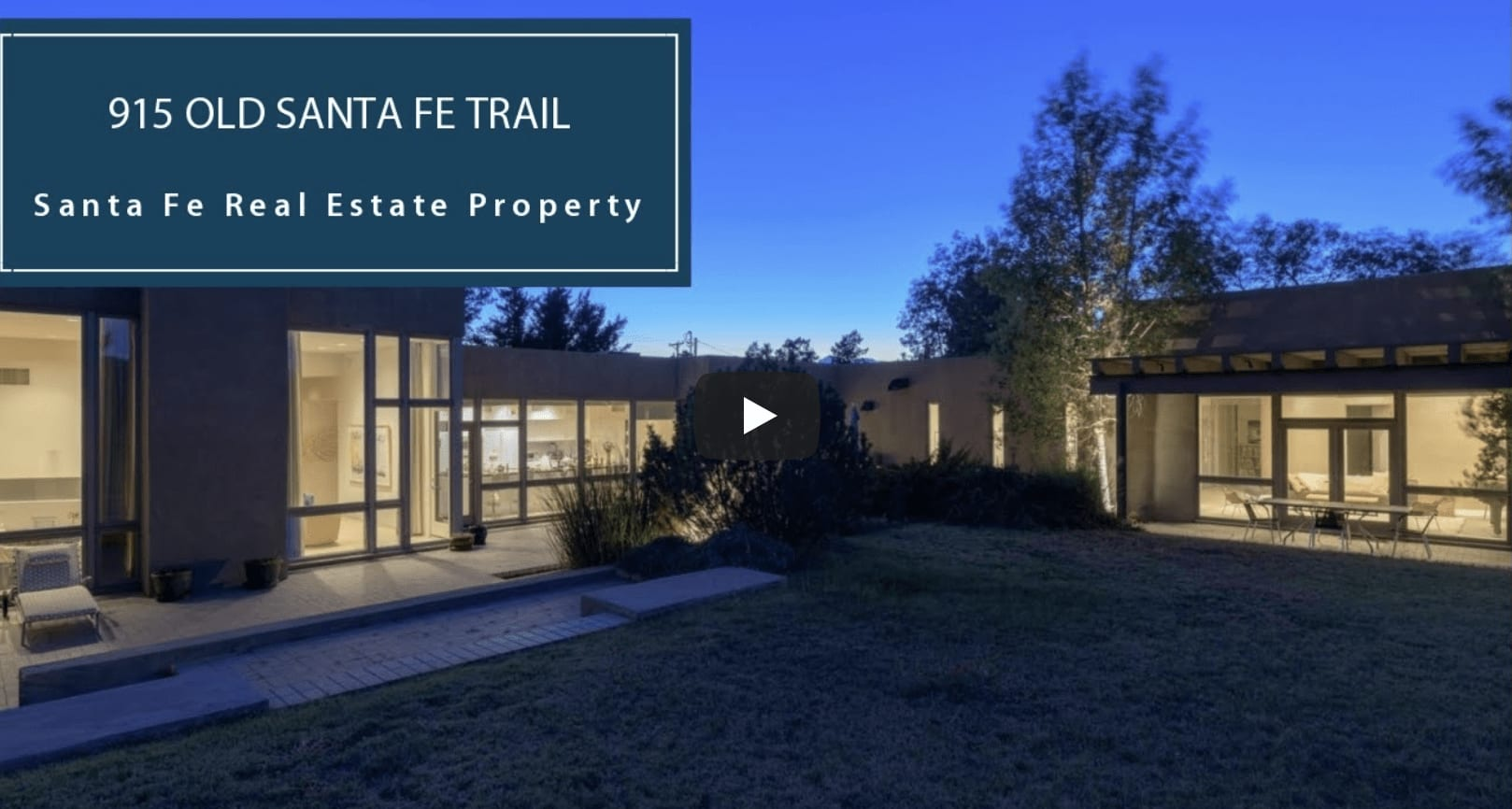 Stunning Contemporary, Mountain Views | 915 Old Santa Fe Trail video preview