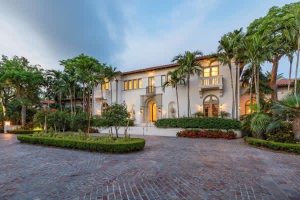 Coral Gables Waterfront Estate Asks Record $55 Million