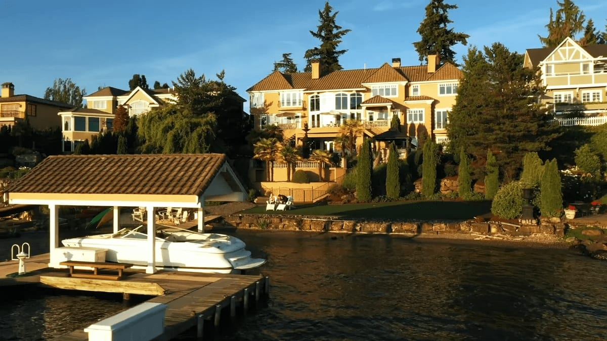 """2205 60th Ave SE """"Exceptional Faben Point Waterfront"""" video preview"""