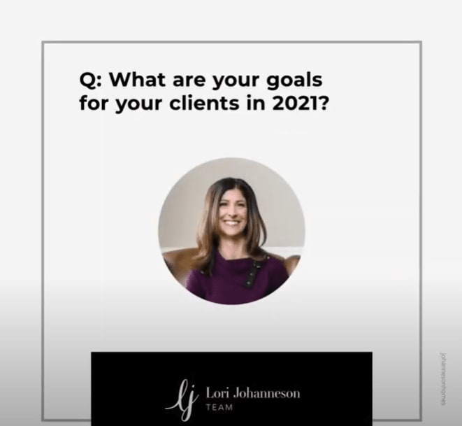 Q&A   What are your goals for your clients in 2021? video preview