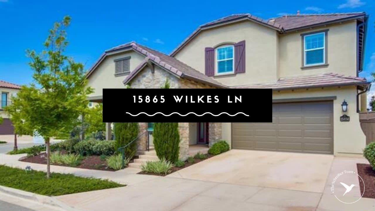 San Diego Real Estate: 15856 Wilkes Lane, San Diego video preview