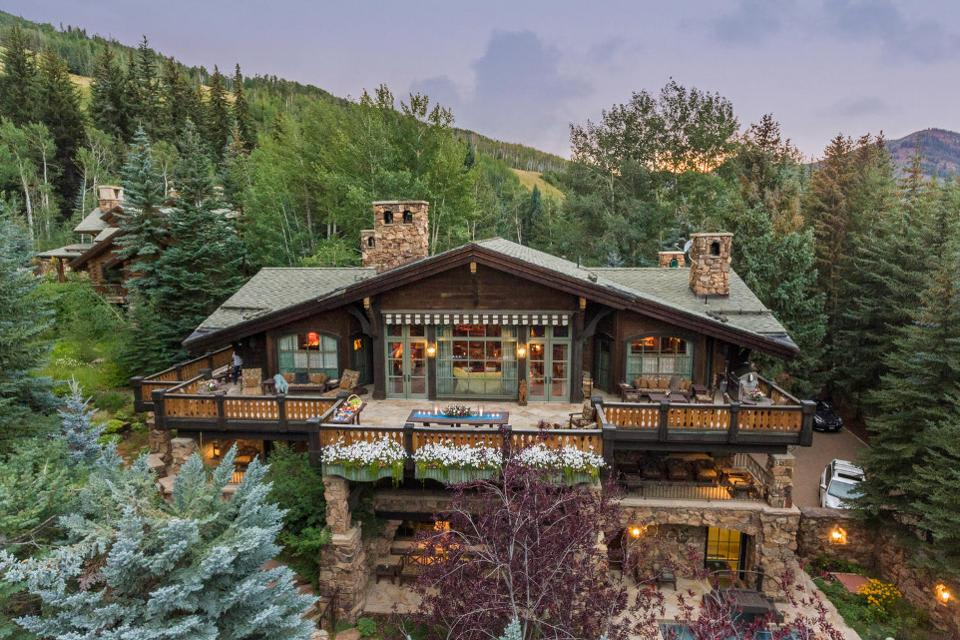 Mountainside Ski-In, Ski-Out Home In Vail, Colorado, Is On The Market For $26 Million
