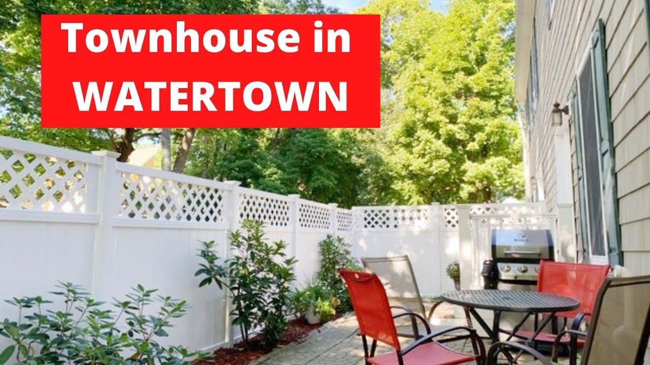 Video TOUR of CONDOMINIUM in Watertown/Boston Suburb- available now video preview