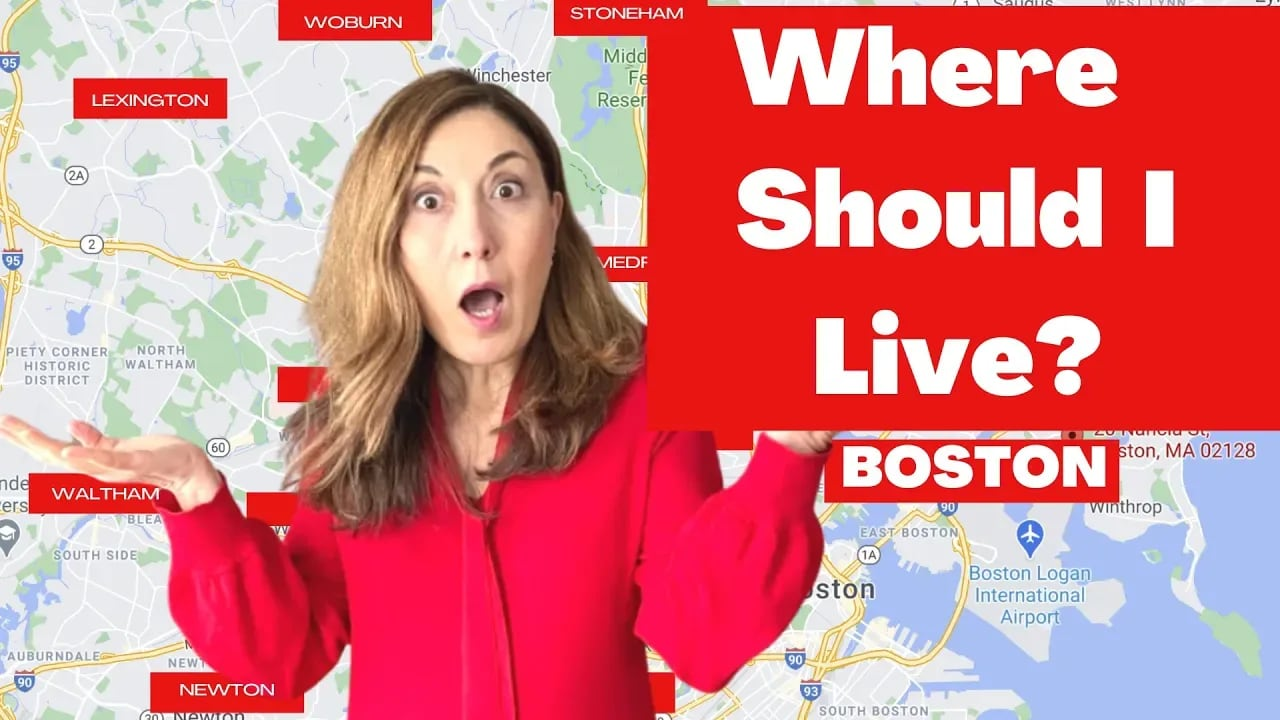 2021 BEST PLACES TO LIVE around BOSTON [15 towns North and West of BOSTON] video preview