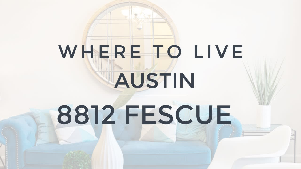 Where to Live in Austin - Bee Cave - 8812 Fescue Ln video preview
