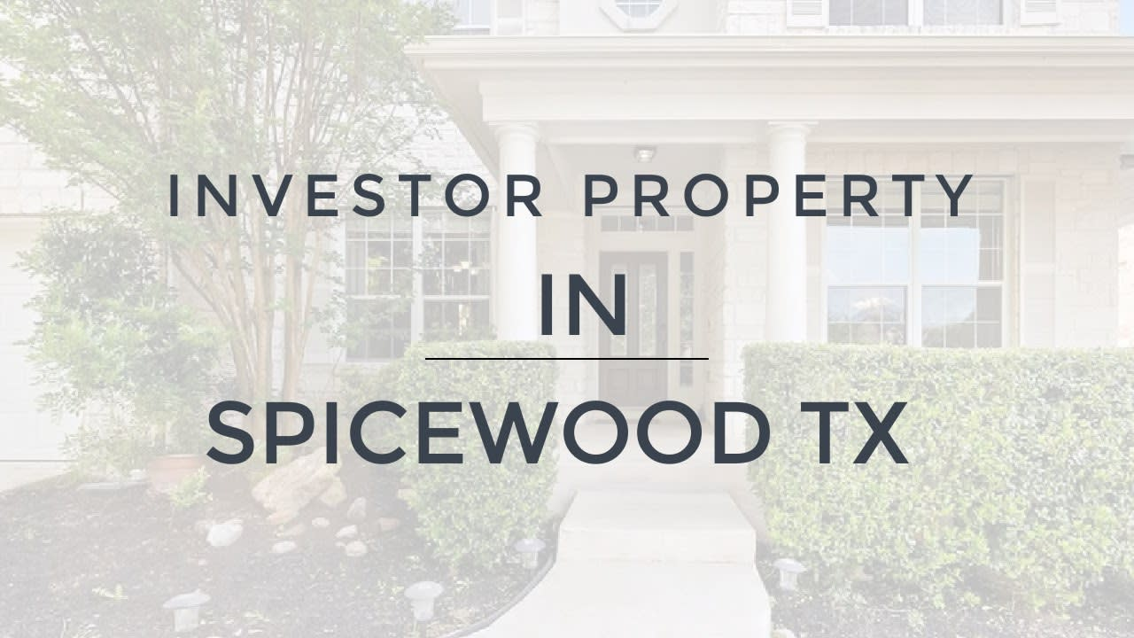 Austin Texas - Spicewood TX Home for Sale video preview