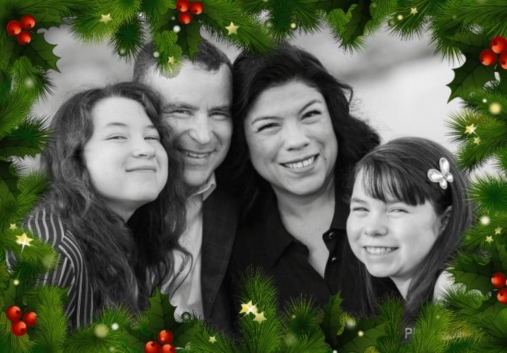 Happy holidays from Seth, Nelissa, Lorena & Sofia
