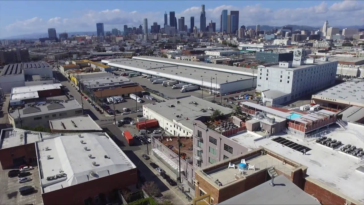 Biscuit Company Lofts Penthouse 701   Downtown LA Arts District video preview