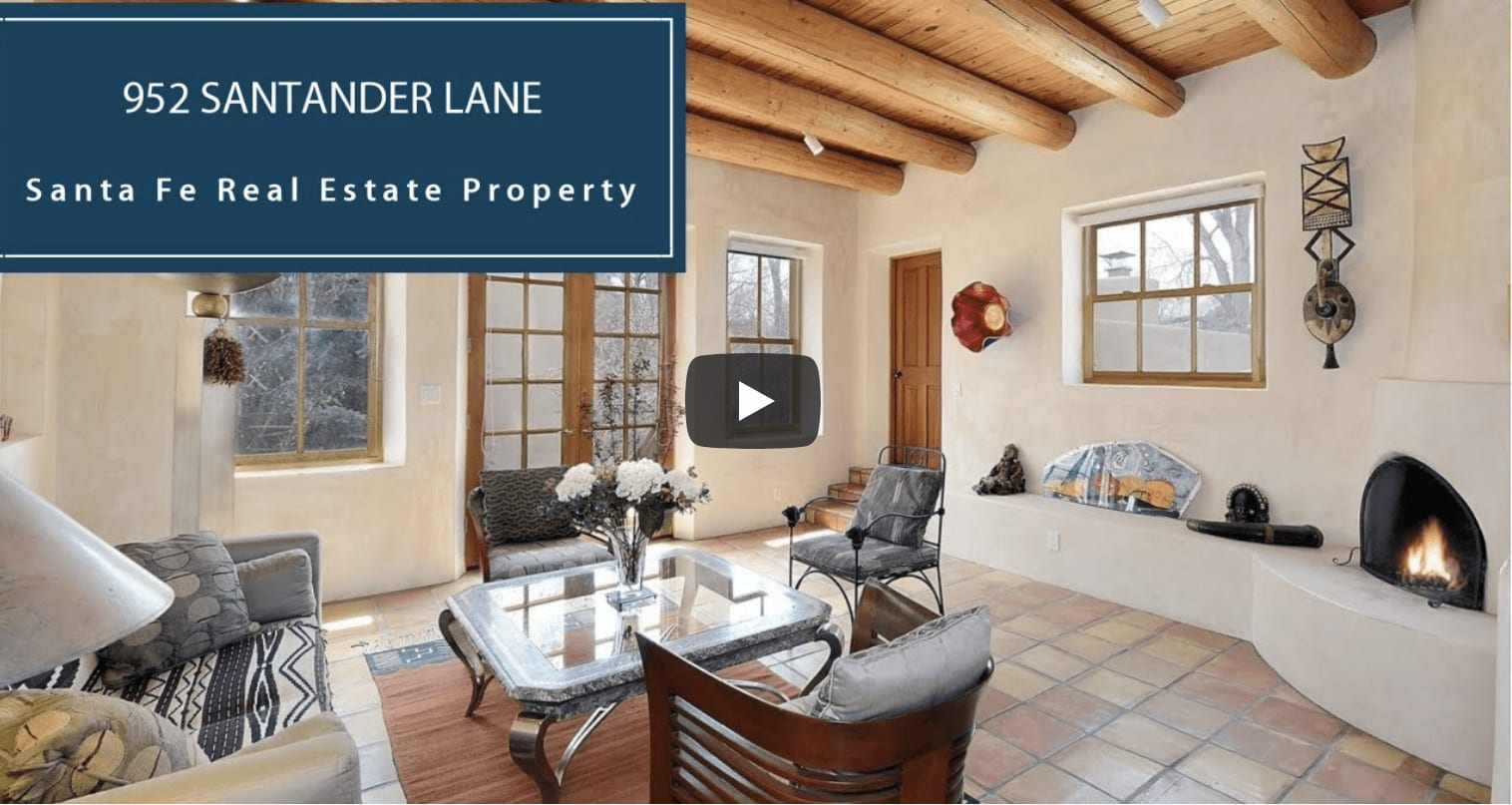 CLASSIC PUEBLO STYLE HOME ON THE EASTSIDE   952 SANTANDER LANE video preview