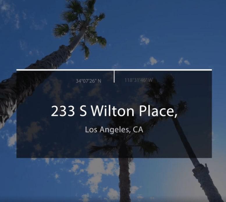 233 S Wilton Pl. video preview