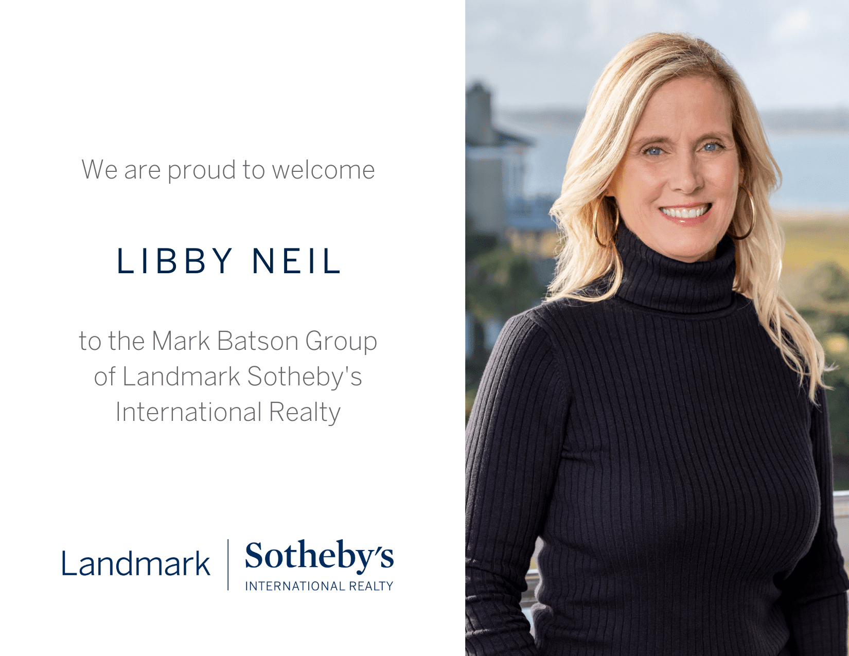 Welcome Our New Broker, Libby Neil