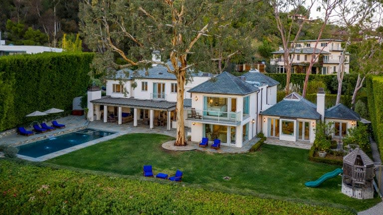Architect's Napa-inspired Pacific Palisades estate