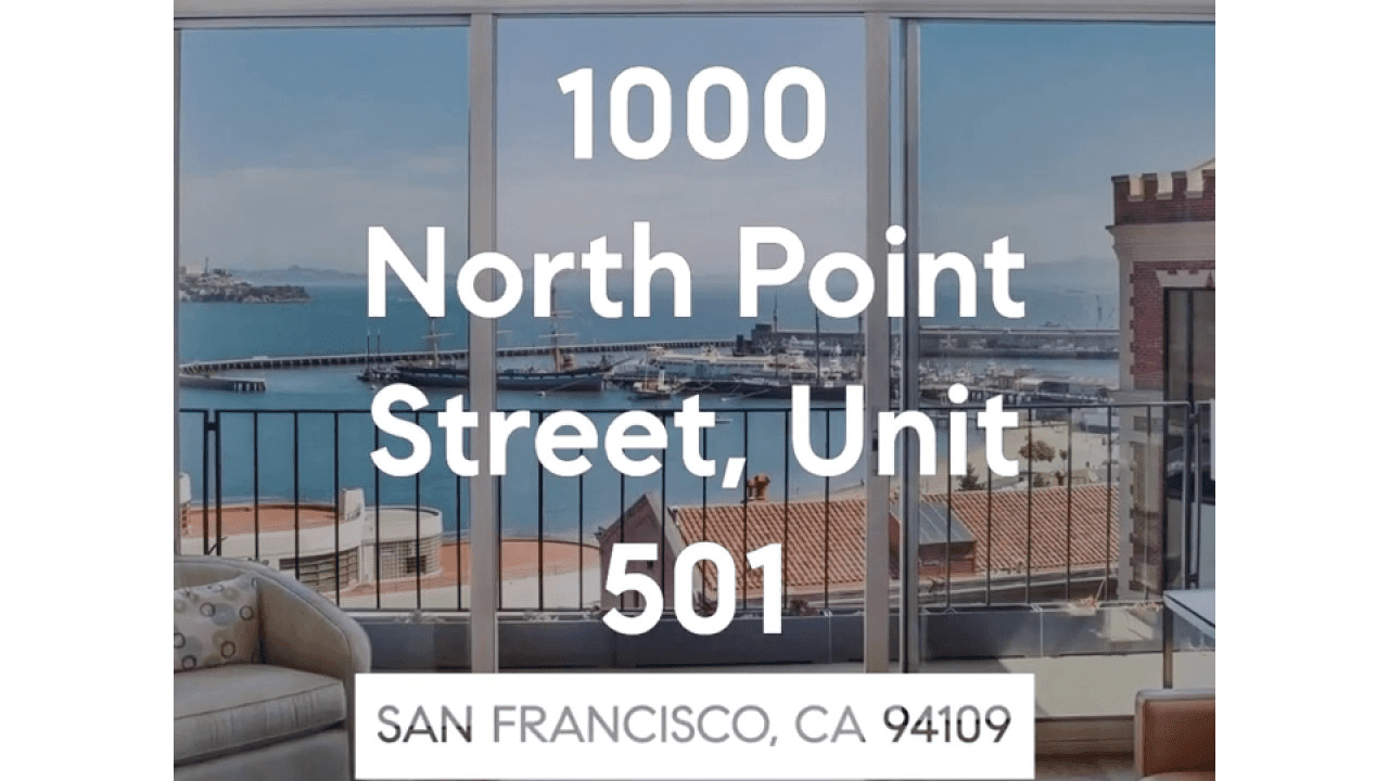 1000 North Point, Unit 501 - Short 2 video preview