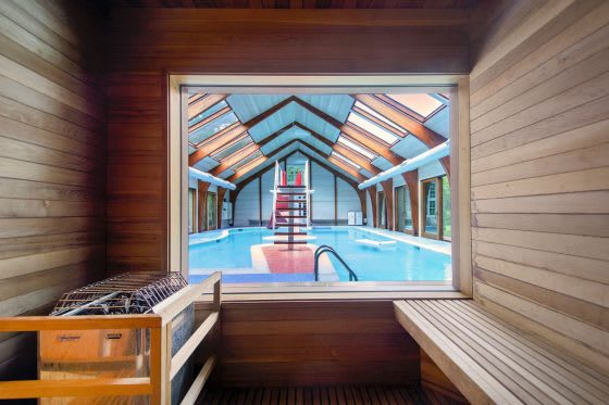 Blow Off Some Steam– 5 Homes with Saunas