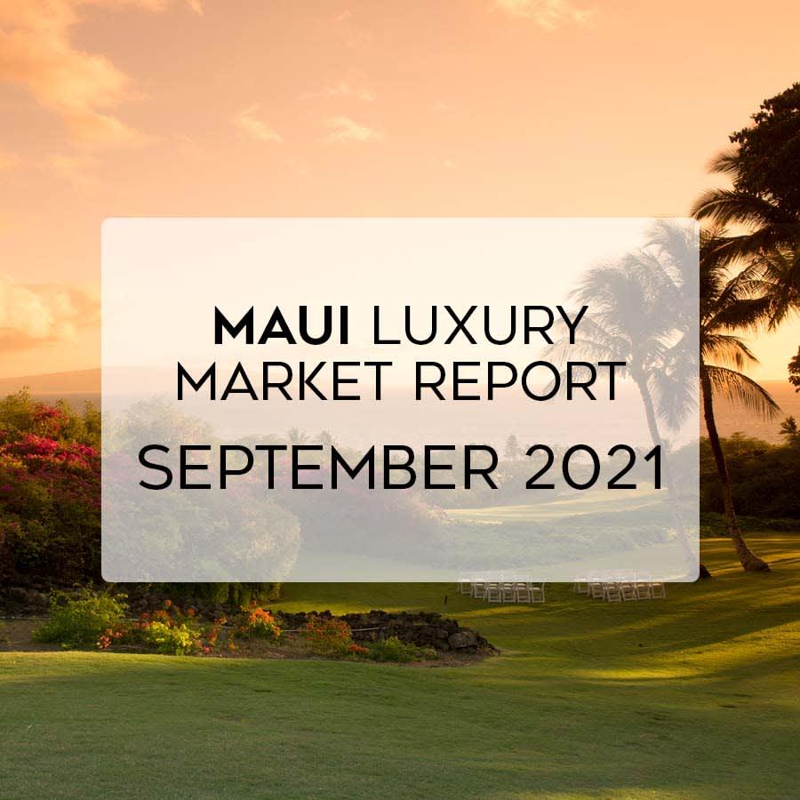 Luxury Market Report: September 2021