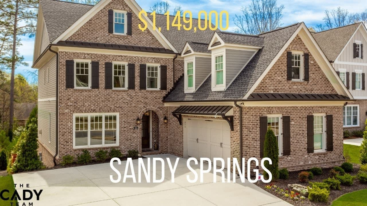 $1.1m Luxurious Lifestyle in Sandy Springs video preview