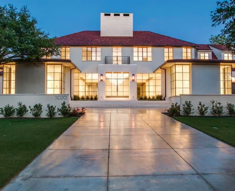 Preston Hollow magnificence built by Saad Chehabi lets the light In