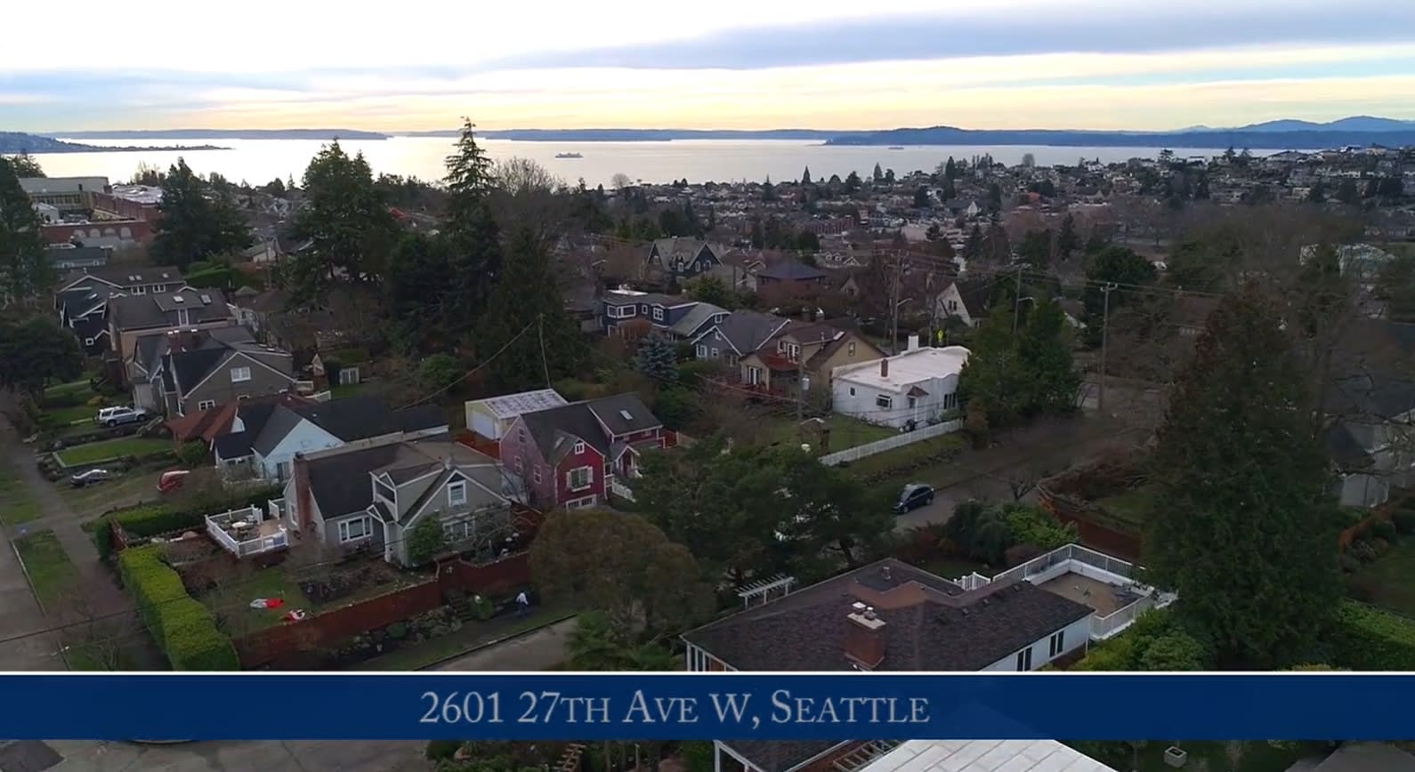 2601 27 Ave W, Seattle | Magnolia View Home video preview