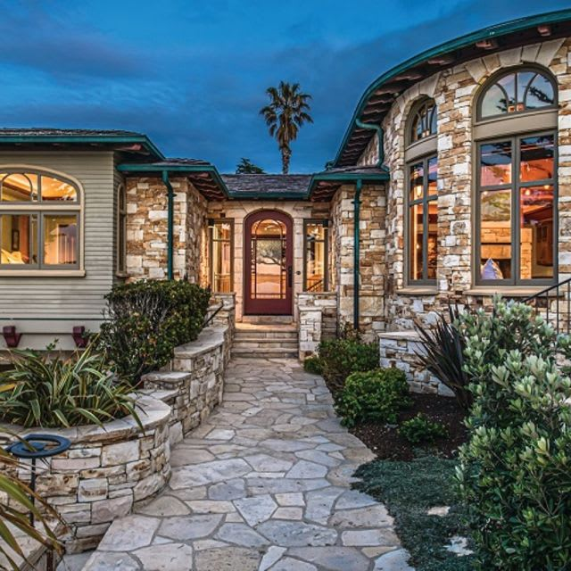 Charming Stone-Clad House Next to the Beach Hits the Market in Carmel, CA, Asks $8.5M