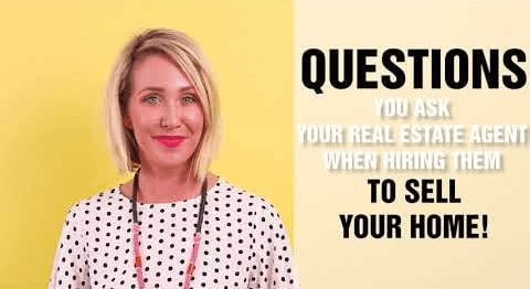 Questions to Ask a Real Estate Agent When You're Interviewing Them to Sell Your Home video preview
