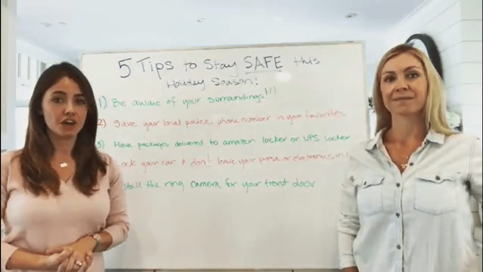 Holiday Safety Tips video preview
