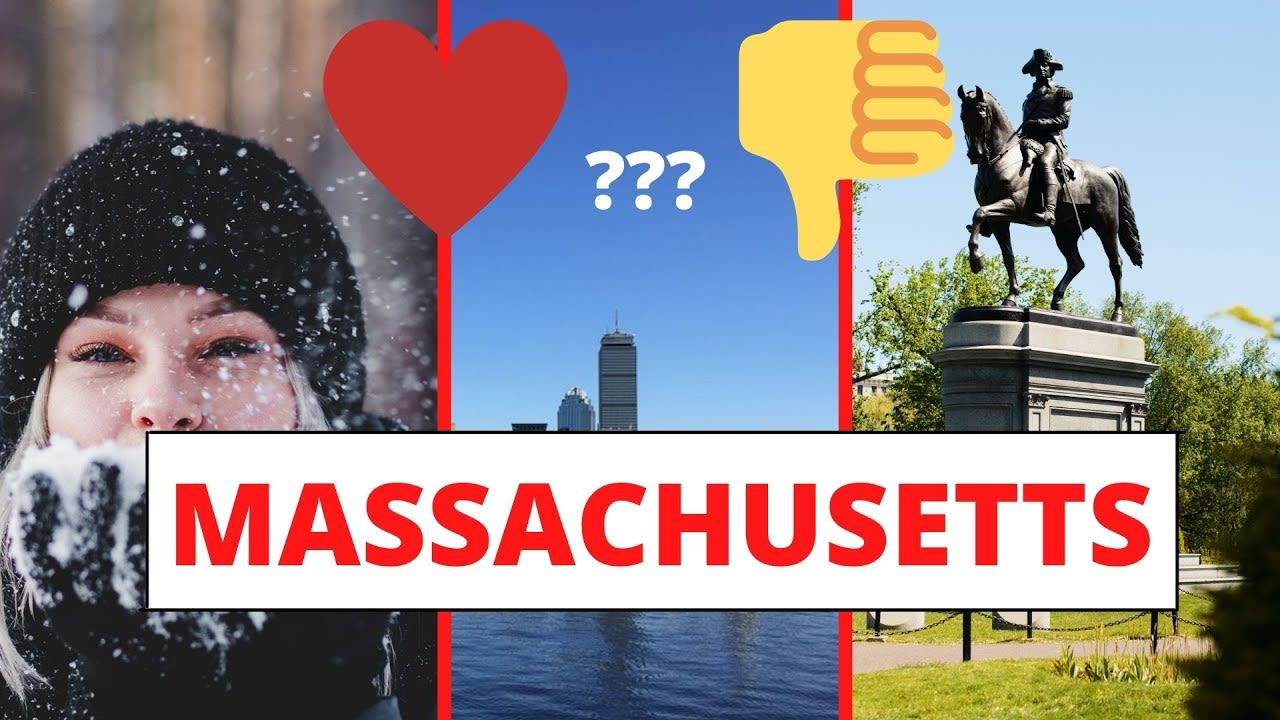PROS and CONS of living in Massachusetts video preview