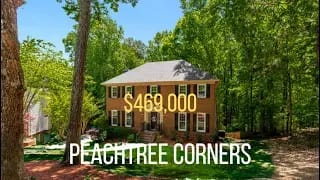 Exceptional turnkey home in Peachtree Corners video preview