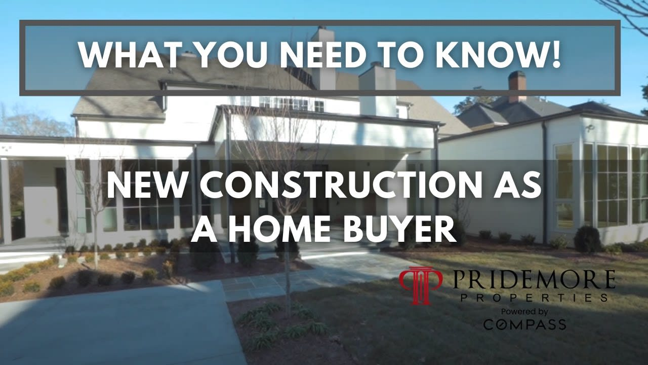 Tips and Advice For New Construction Buyers | What You Need To Know! video preview