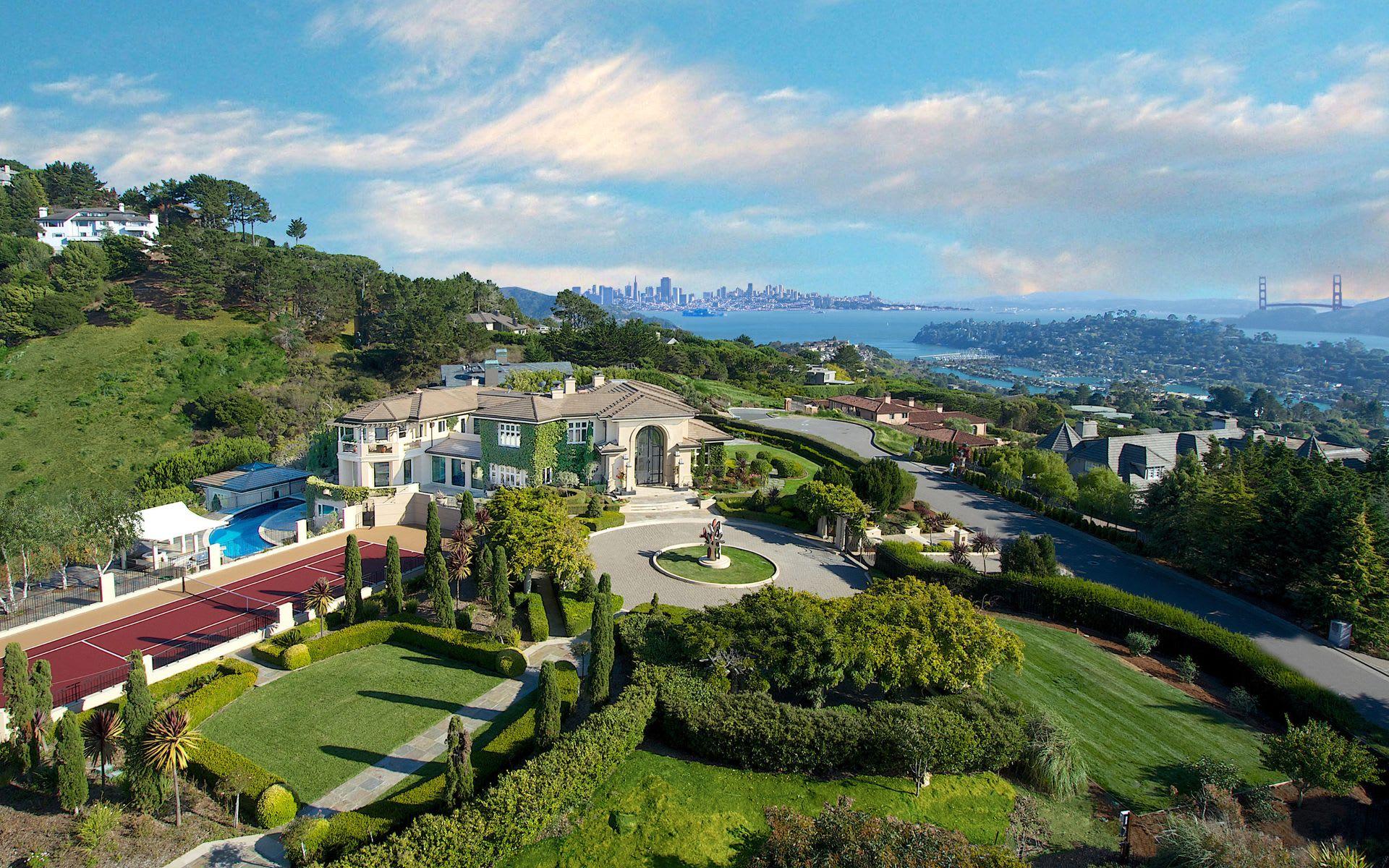 Bill Bullock and Lydia Sarkissian Break Luxury Home Sales Record in Marin