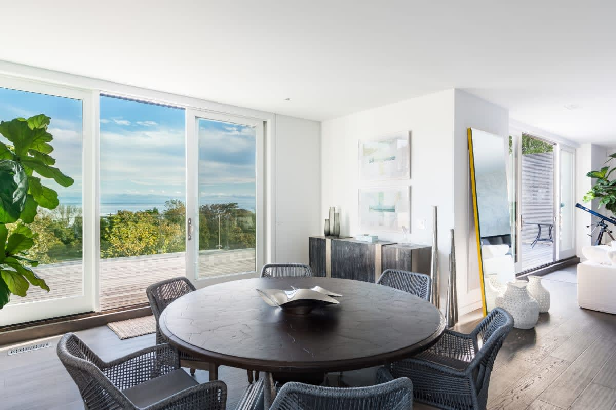 Modern with Panoramic Ocean Views from Rooftop Pool