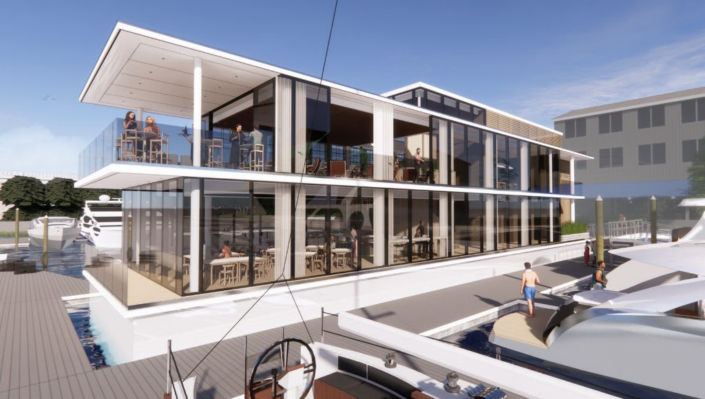 Wrightsville Yacht Club's New Floating Restaurant