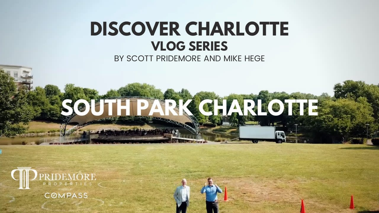 Discover Charlotte Vlog Series: 1   South Park Charlotte NC  Scott and Mike   Real Estate Agent Vlog video preview