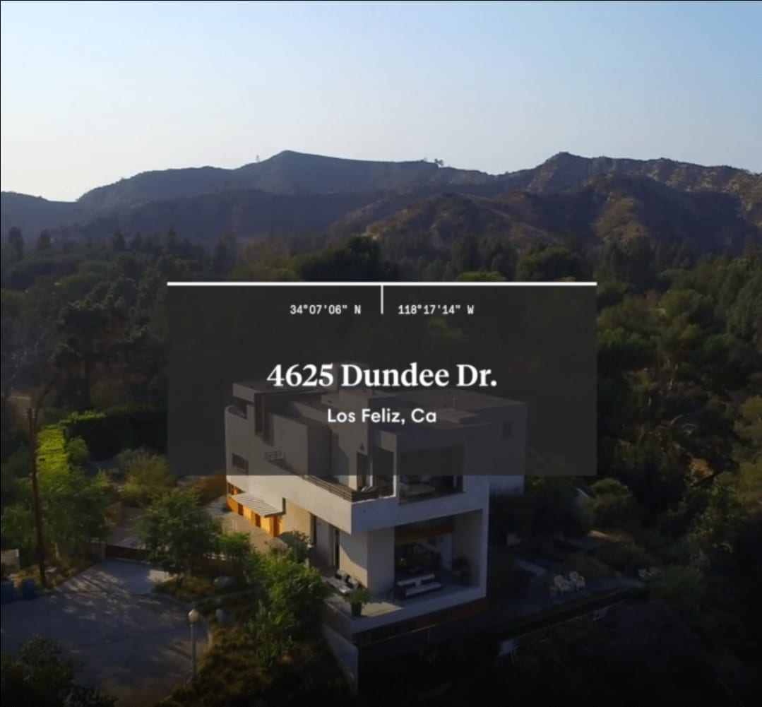 4625 Dundee Dr. Los Feliz video preview