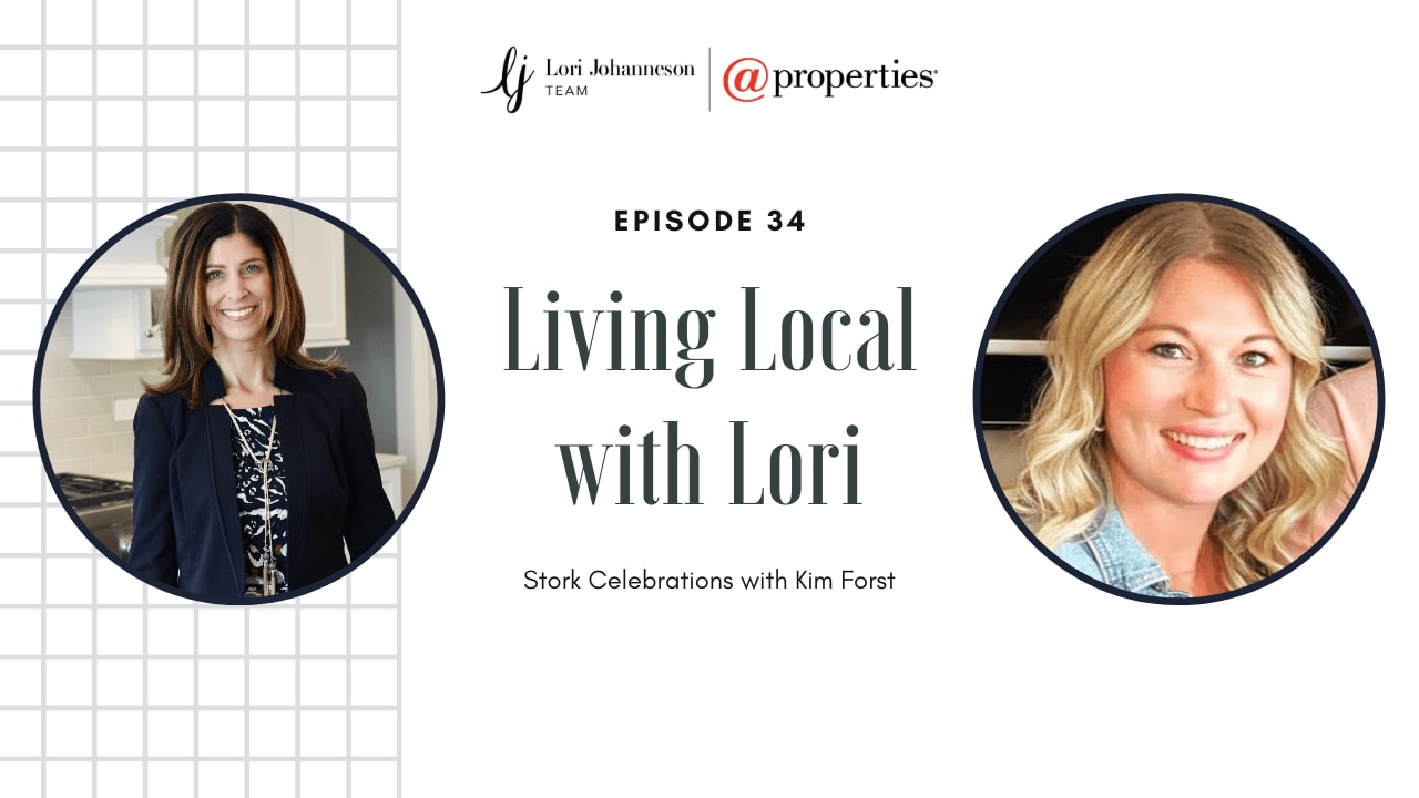Living Local with Lori   Episode 34   Stork Celebrations with Kim Forst video preview
