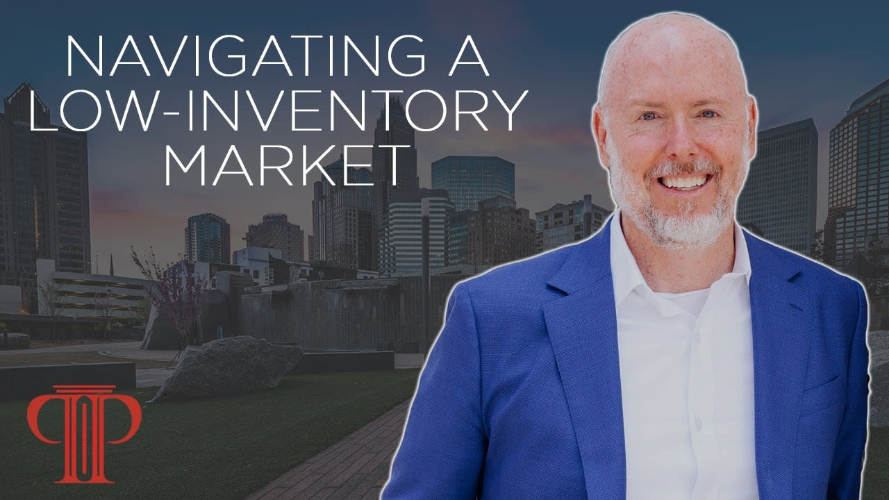 Real Estate Tips   Navigating a Low-Inventory Market   Buying a Home in a low Inventory Market video preview