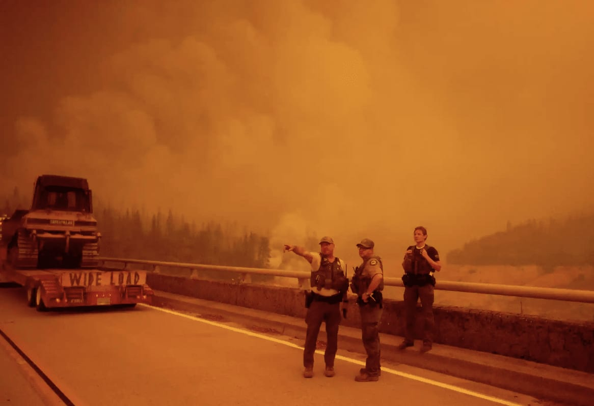 Wildfires Hit the West Coast