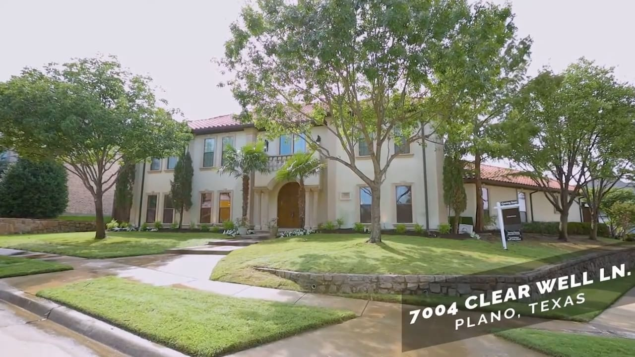7004 Clear Well Ln | Plano -- $849,000 | The Pistana Group video preview