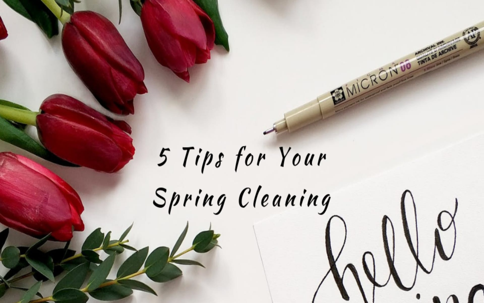 5 Tips for Your Spring Cleaning