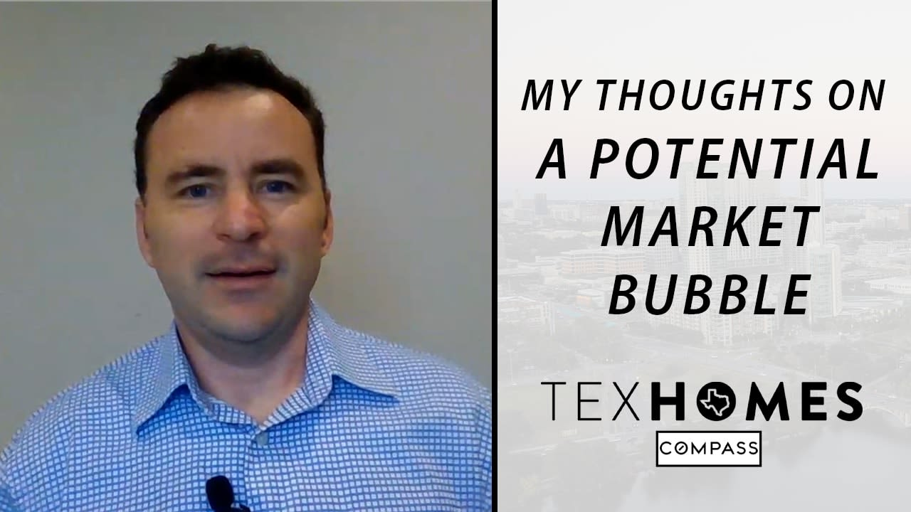 Is the Austin Real Estate Market in a Bubble?