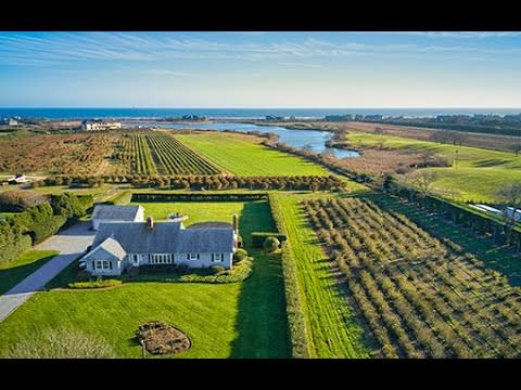 Ocean, Pond, and Farm Views in Southampton Village video preview
