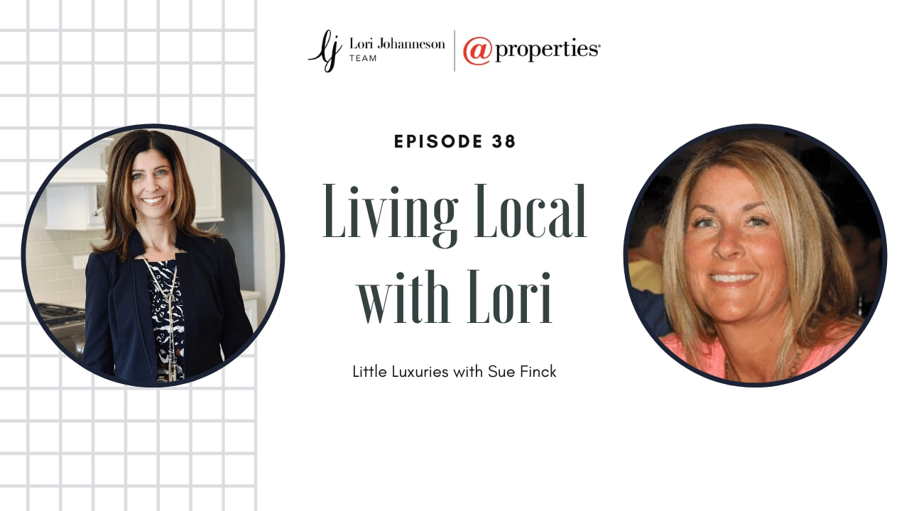 Living Local with Lori   Episode 38   Little Luxuries with Sue Finck video preview