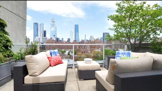 A Terrace Lover's Dream In Chelsea, New York video preview
