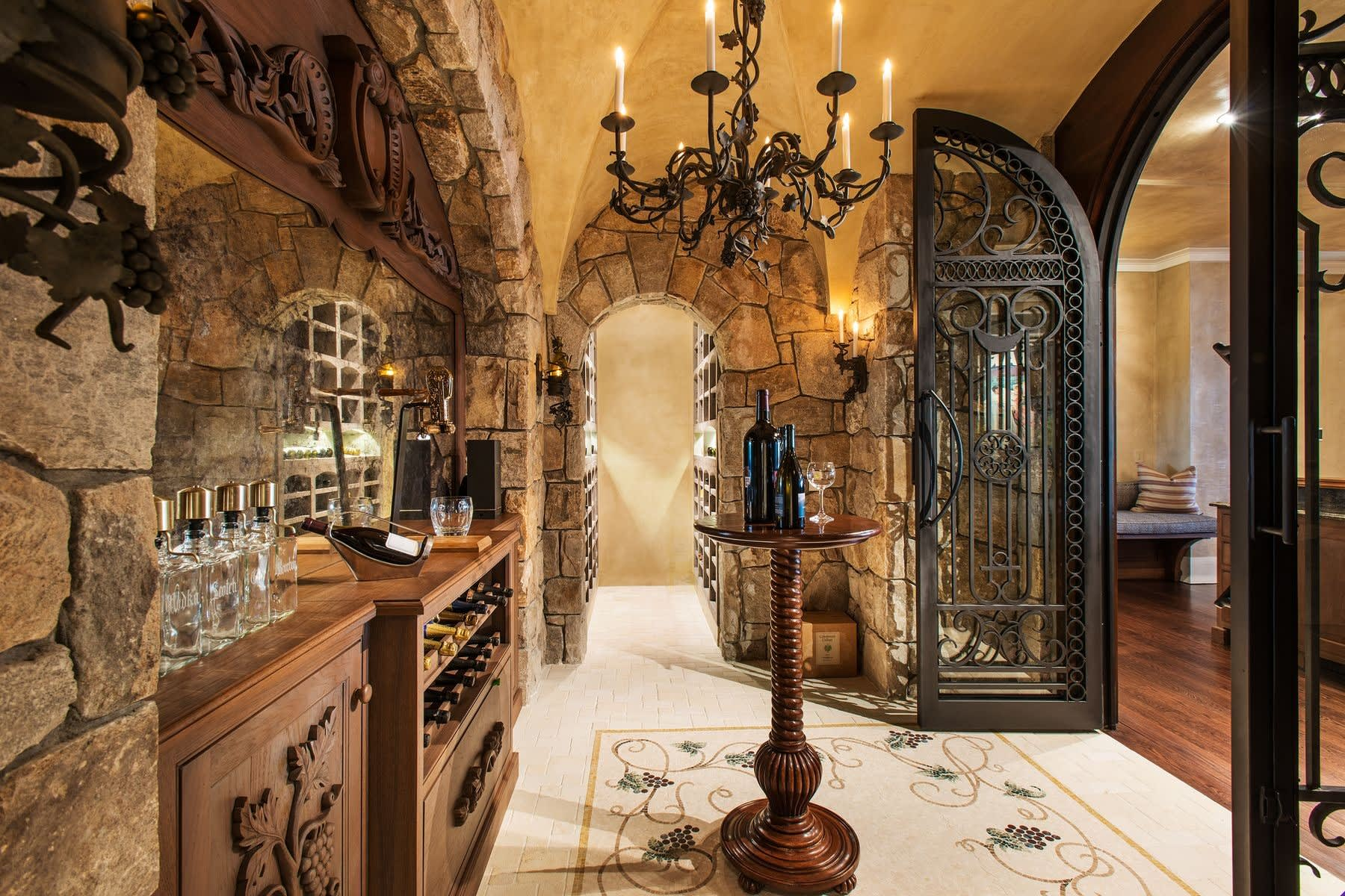 Raise a Glass to These 4 Stylish Wine Rooms