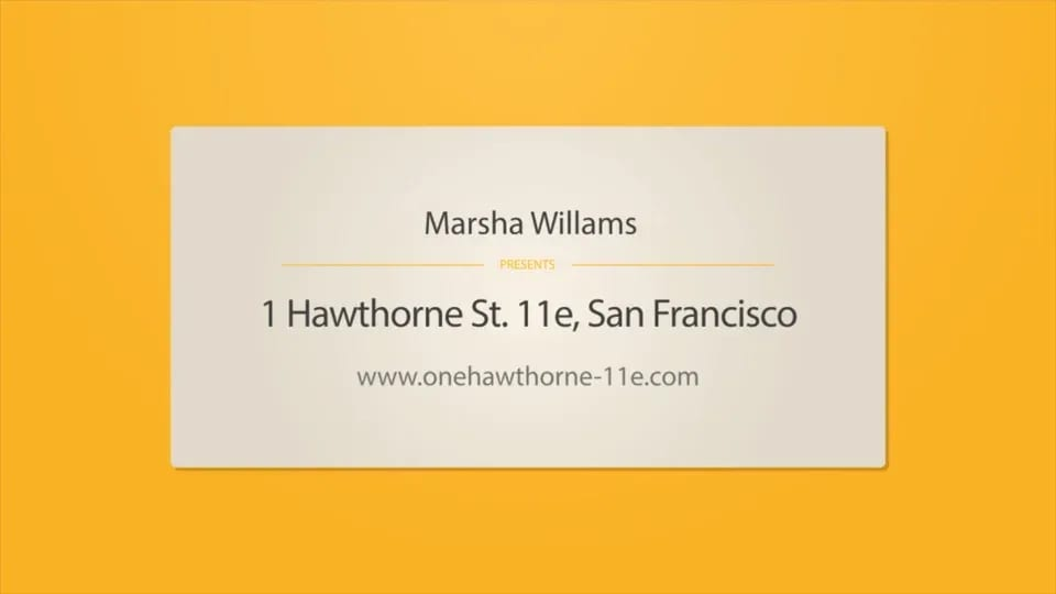 One Hawthorne #6D video preview