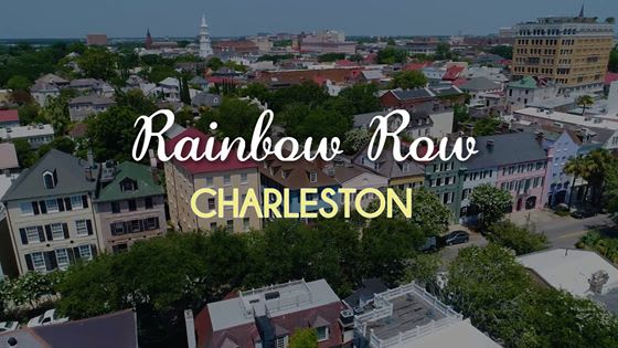 Historic Rainbow Row – Charleston, South Carolina video preview